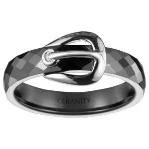Bagues Ceranity Silver 1-12-0035-N