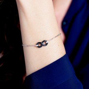 Bracelet céramique noire 1-32-0083-N