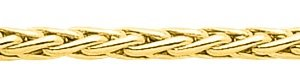 Bracelet maille Palmier Or Jaune 2304